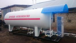 Модульная АГЗС с резервуаром объёмом V = 10 мЗ, колонка УЗСГ-01, ПМП-118, насос ФД 25/40 (аналог FD-150)